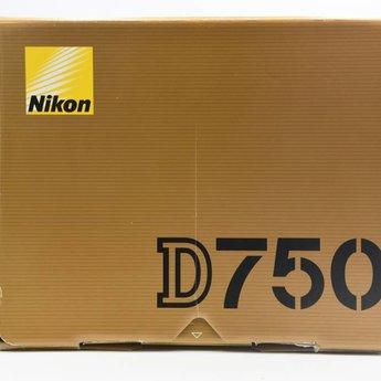 Used Nikon D750 Body 40k clicks (Factory Refurb)