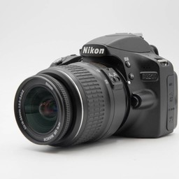 Used Nikon D3200 2-lens combo (3 of 5 condition)