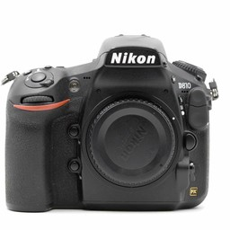 Used Nikon D810 body  (only 169 clicks)