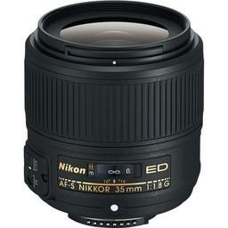 Nikon Nikon AF-S NIKKOR 35mm f/1.8G ED