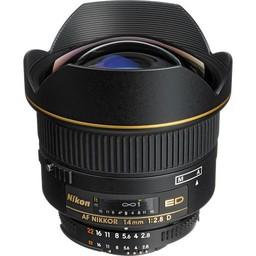 Used Nikon AF NIKKOR 14mm f/2.8D ED Lens