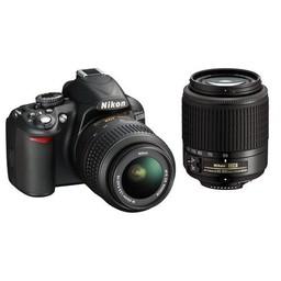 Nikon D3100 Two Lens Kit 18-55mm, 55-200mm