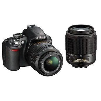 Used Nikon D3100 Two Lens Kit