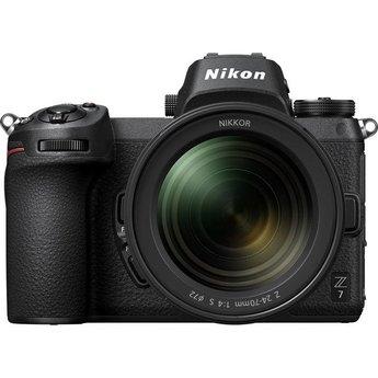 Nikon Nikon Z7 24-70mm f/4 Mirrorless Camera (Lens Kit)