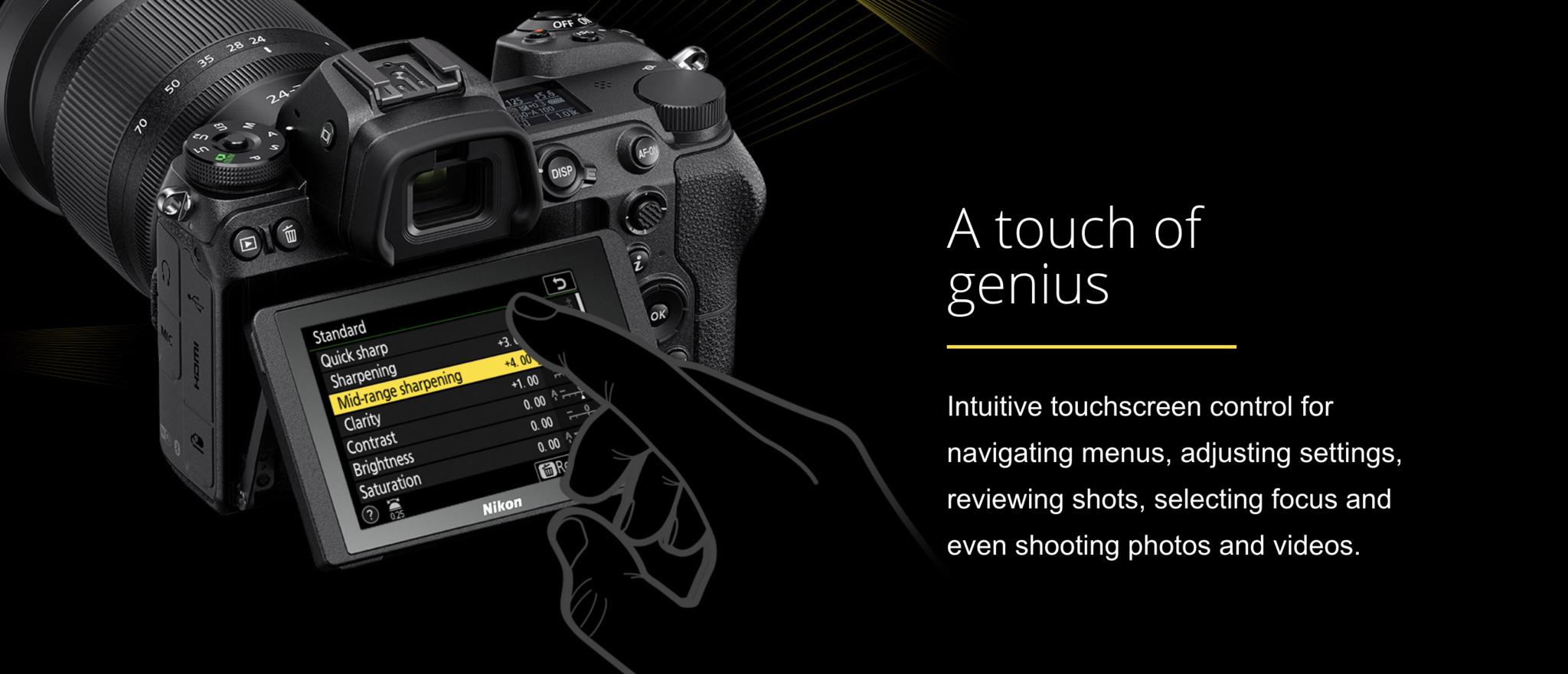 Nikon Z6 24-70mm f/4 Mirrorless Camera (Lens Kit) #1598