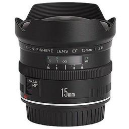 Used Canon EF 15mm 2.8 fisheye