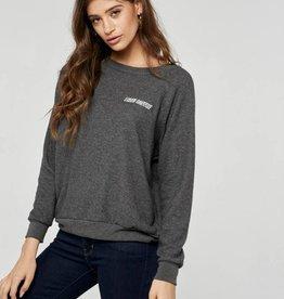 I Need Coffee Embroidered Sweatshirt