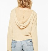 Rays Of Sun Cropped Hoodie