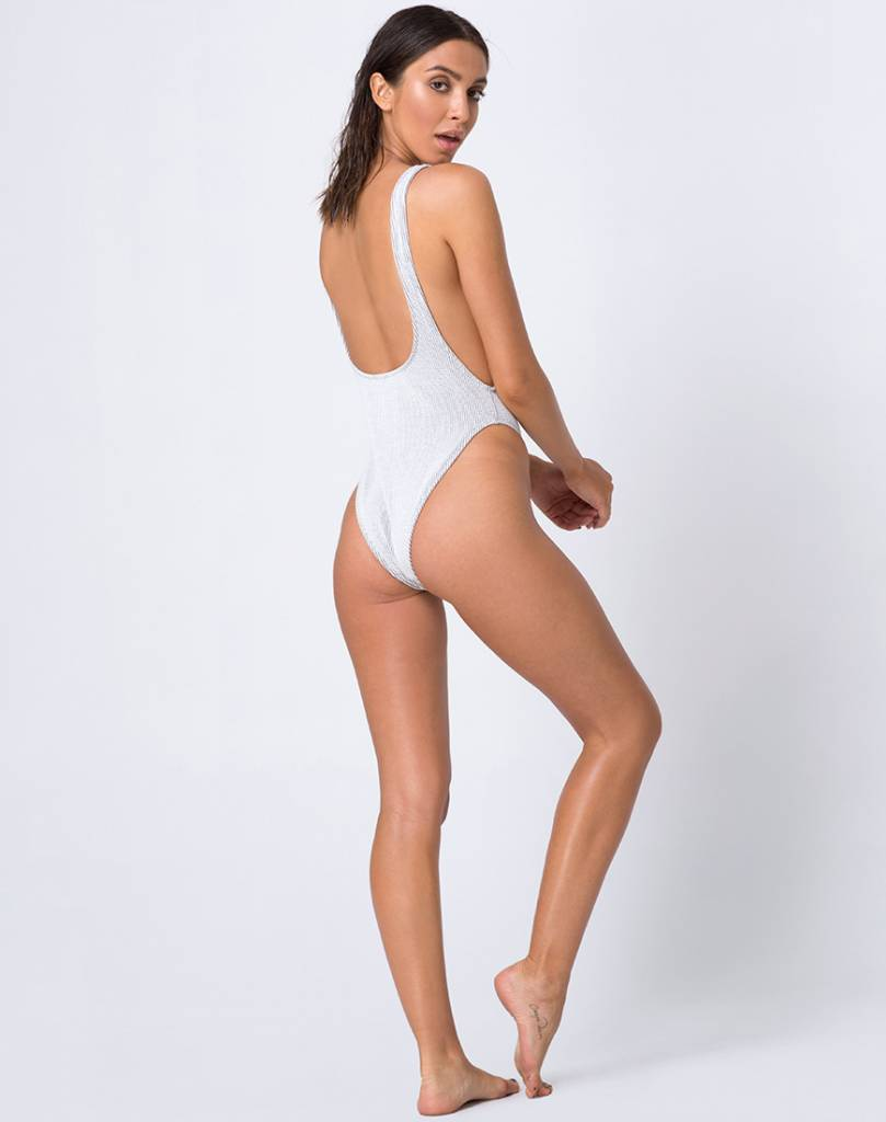Goddess Crinkle One-Piece Swimsuit