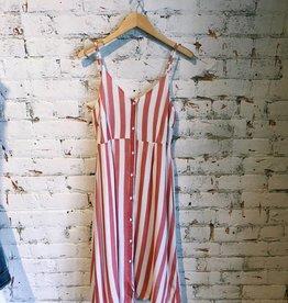Washed Stripe Dress