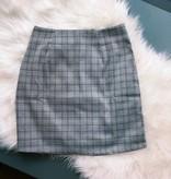 Multi Plaid Skirt