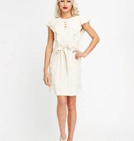 Crème de la Crème Mini Dress