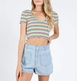 Seville Striped Top