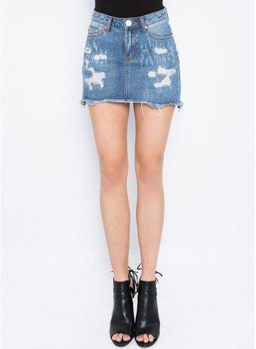 Tula Distressed Skirt