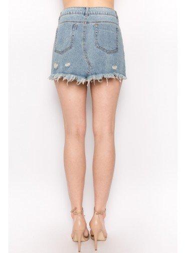 Alamos Distressed Skirt