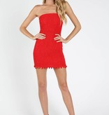Sangria Pom Dress