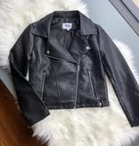 Doin' It Right Vegan Leather Jacket