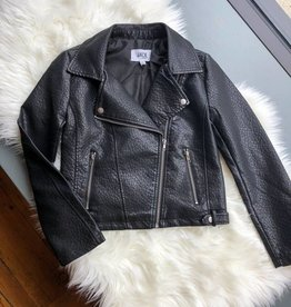 Doin' It Right Vegan Leather Jacket