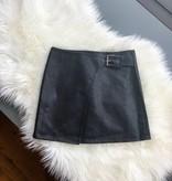 Fashion Killa Vegan Leather Skirt