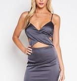Trento Satin Dress