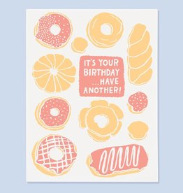 The Good Twin Donut Bday Card