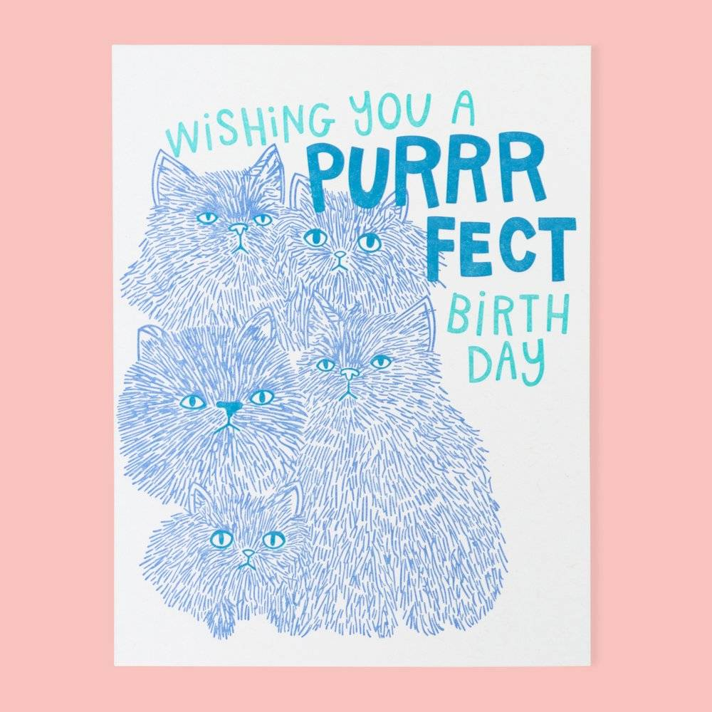 The Good Twin Purrfect Card