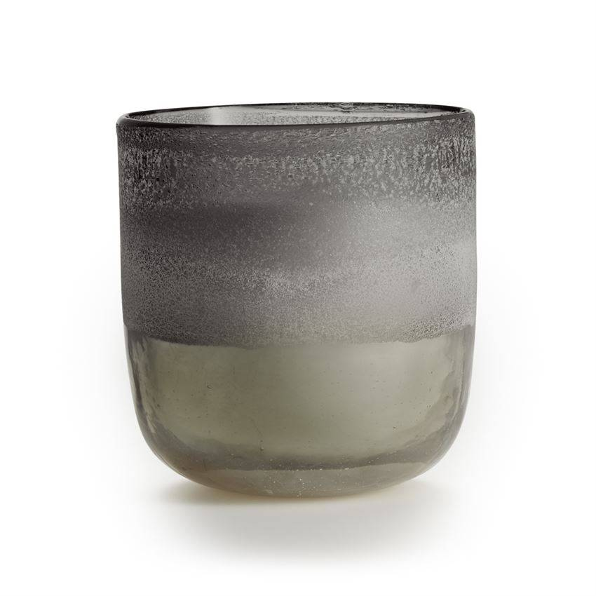Blackberry Absinthe Mojave Sanded Glass Candle