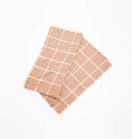 Modern Grid Scarf