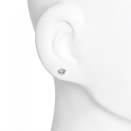 Boma Lotus Stud Earrings