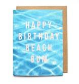 Beach Bum Card