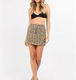 Sasha Leopard Skirt