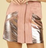 Josie Metallic Skirt