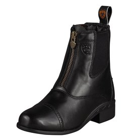 Ariat Ariat Devon III Kids Zip Paddock Boot-Black
