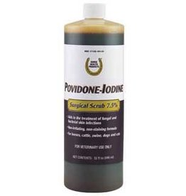 First Priority Povidone Iodine Surgical Scrub 7.5% 32oz