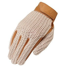 Heritage Gloves Heritage Youth Crochet Riding Gloves