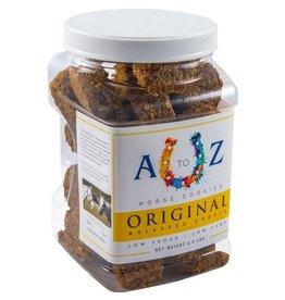 A TO Z A TO Z Horse Cookies - Original Molasses Flavor - 2.5lb Jar