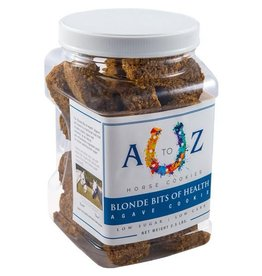 A TO Z A TO Z Horse Cookies - Blonde Bits of Health - 2.5lb Jar