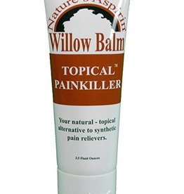 Willow Balm-Nature's Aspirin Topical Painkiller, 3.5oz