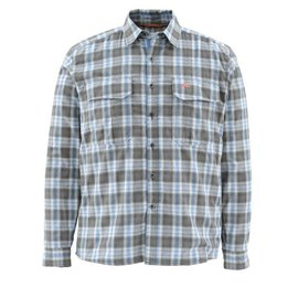Simms SIMMS COLDWEATHER SHIRT - BLUE PLAID