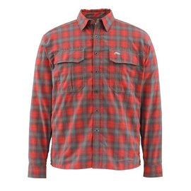 Simms SIMMS COLDWEATHER SHIRT - ORG PLAID