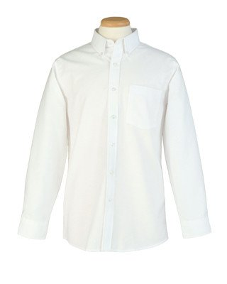 White Oxford Shirt-Men's
