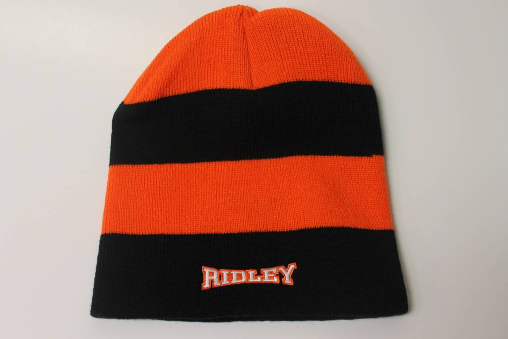 Toque - Logofit orange and black striped