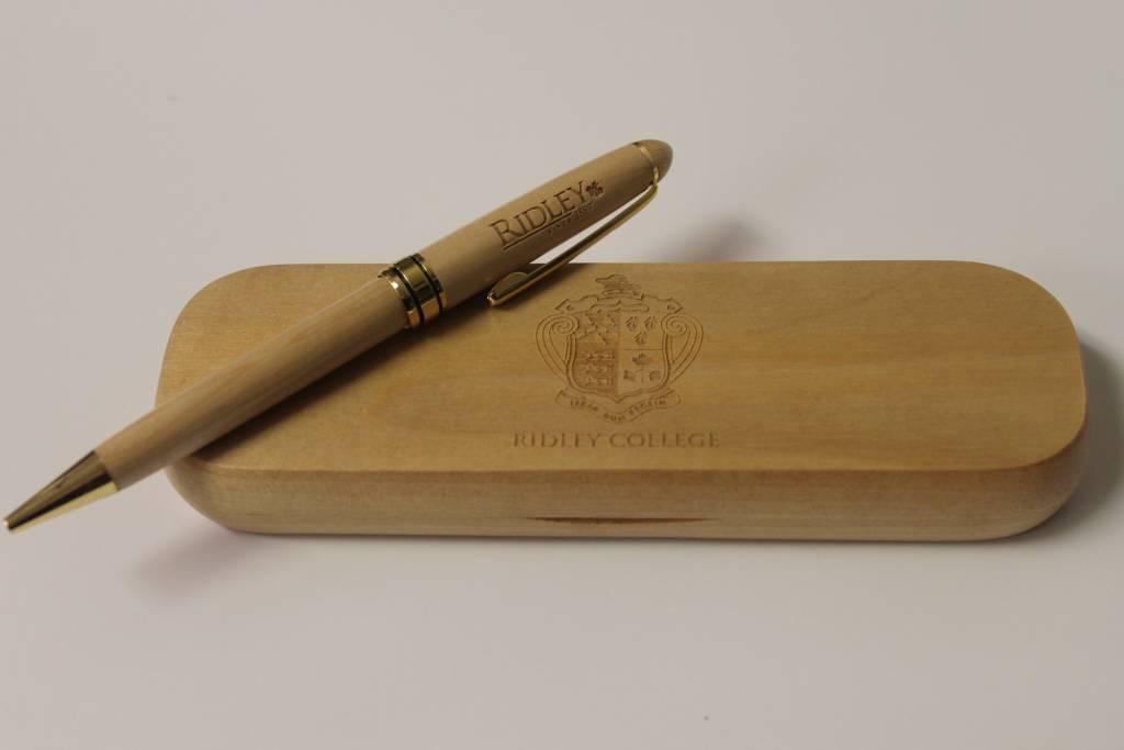 Wooden Laser Engraved Pen Set
