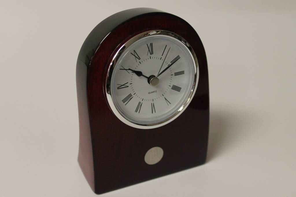 Rosewood Clock Curved