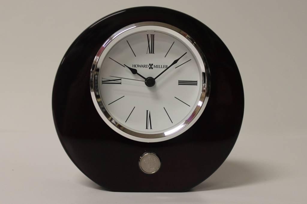 Rosewood Clock Round