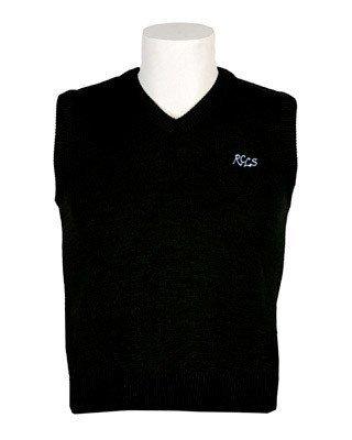 Black Vest - Adult Sizes (gr.5-8 only)