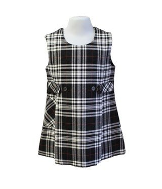 Tartan Jumper Dress