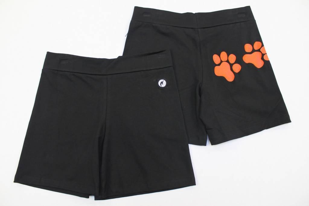 Paw print shorts-xlarge