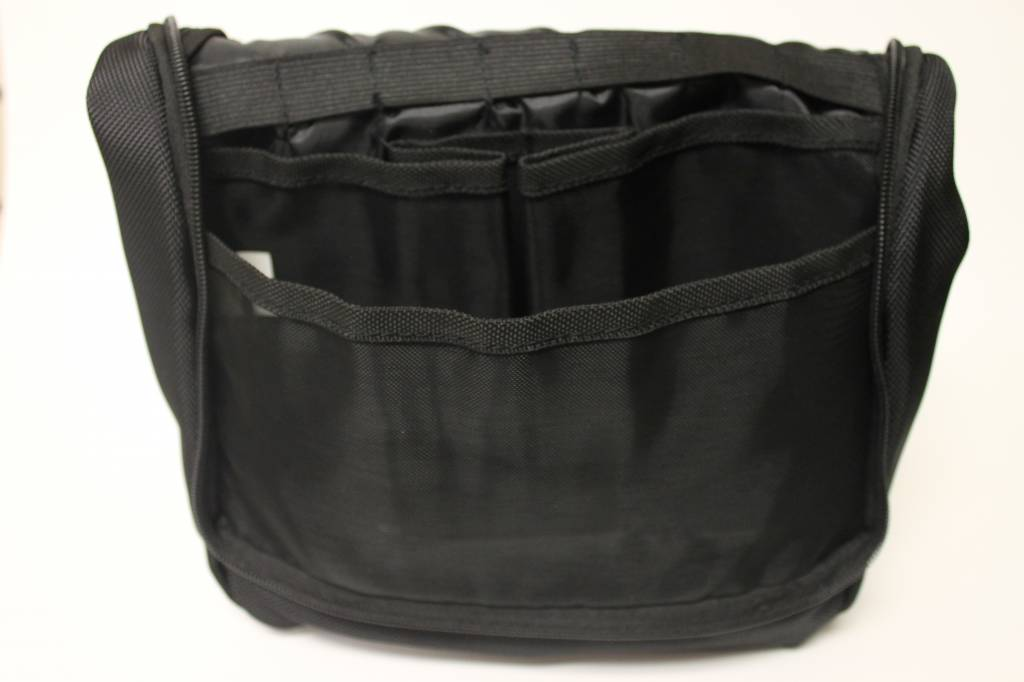 Black Crested Shaving/Toiletry Bag