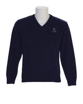 Upper School Navy Pullover Sweater xlarge